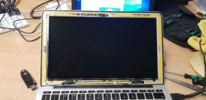 "Macbook Air 11"" Bezel Replacement"